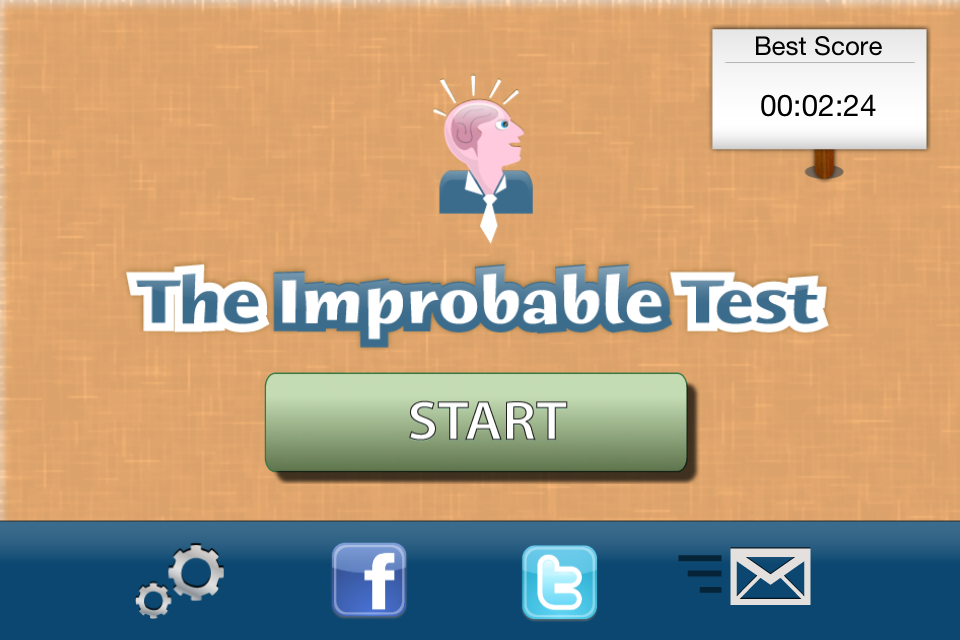 Screenshot The Improbable Test